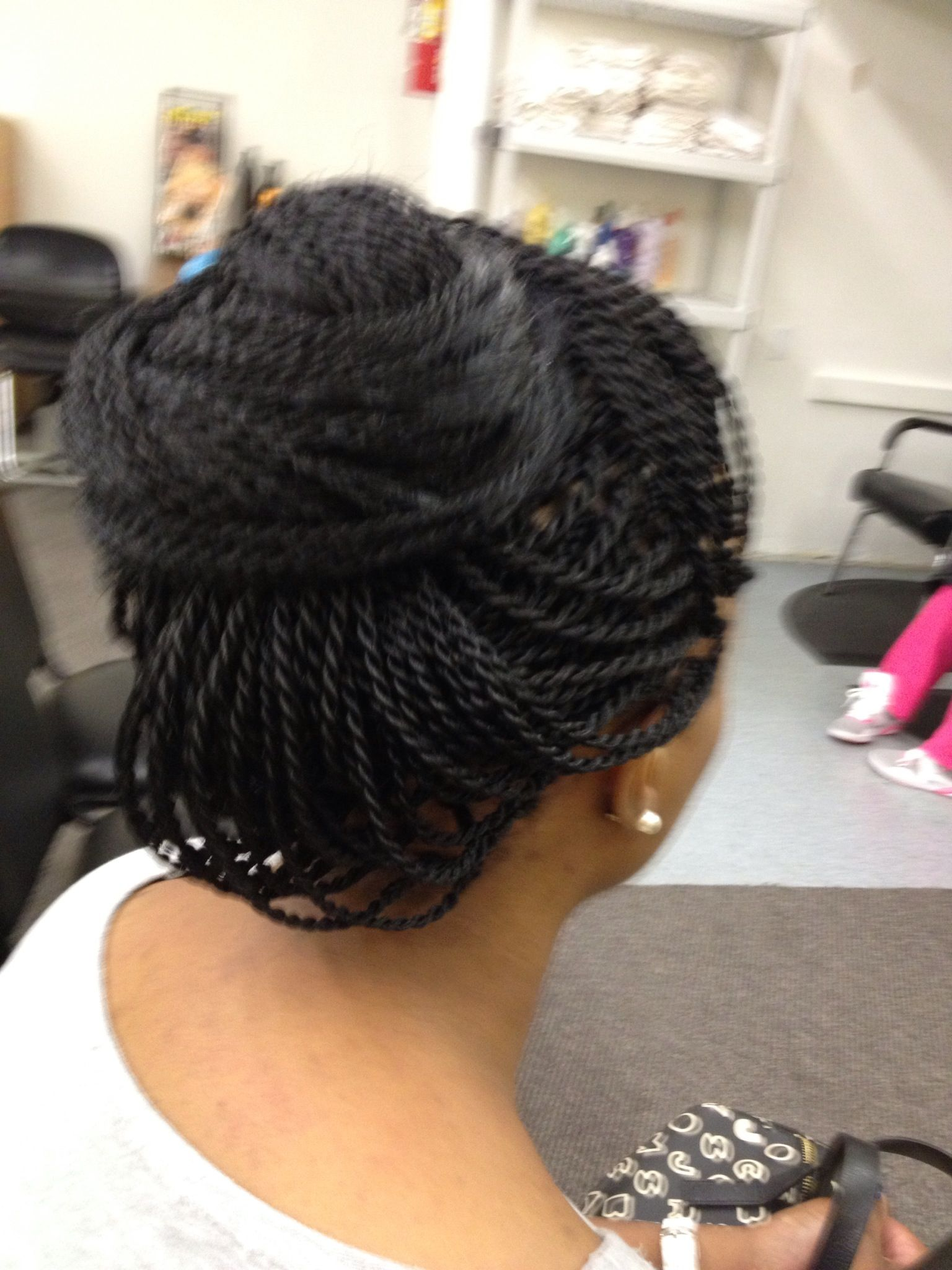 Pin Up Style My Senegalese Twist Natural And Braided Styles