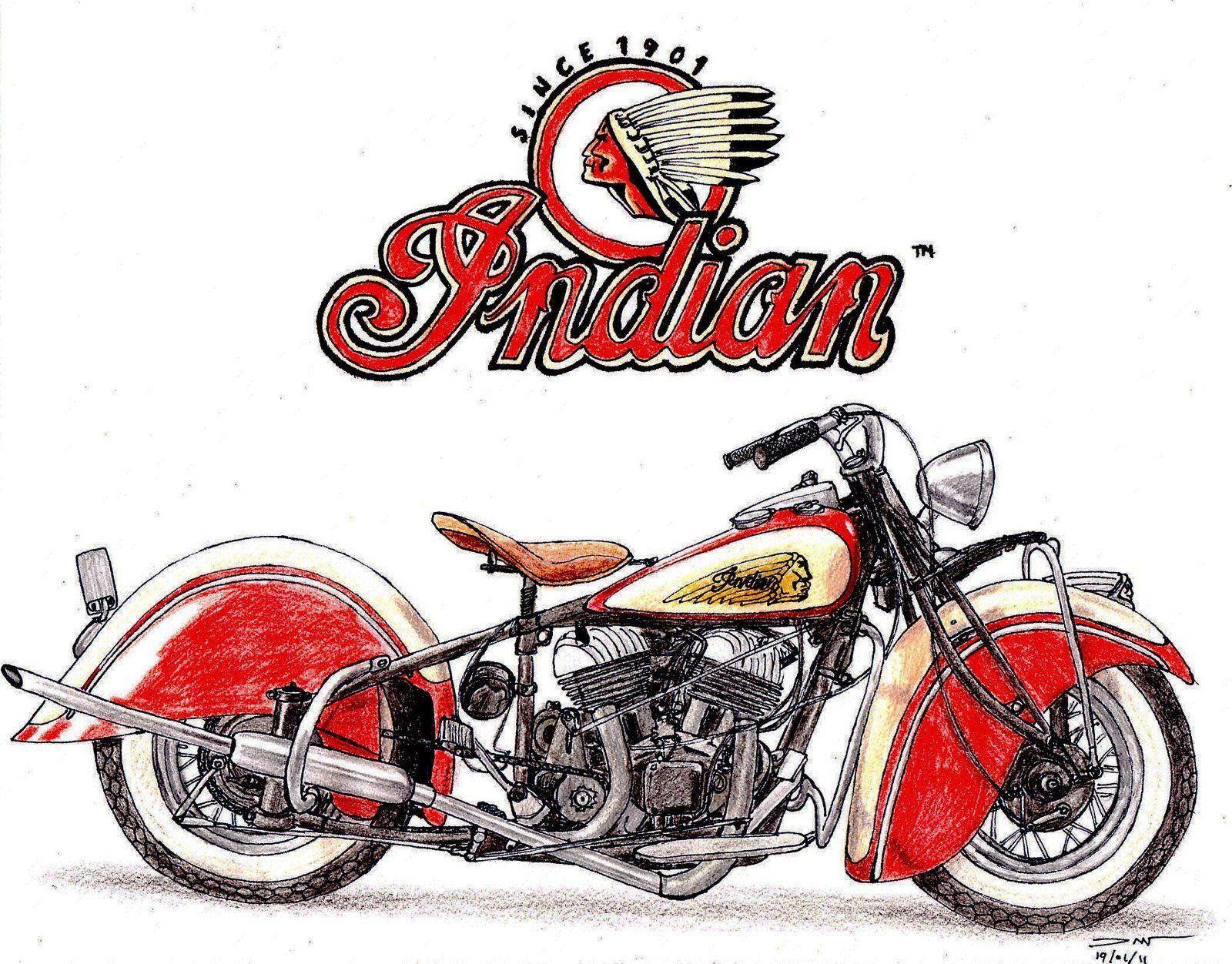1936 Indian Chief By Twistedmethoddan Indian Motorcycle Art Indian Motorcycle Vintage Motorcycle Art