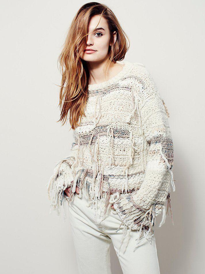 Free People Cirrus Thermal Sweater, �598.06