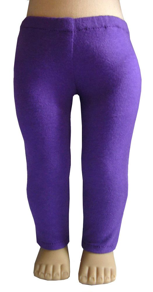 d1d2eee2d51a38 Made in USA Purple Leggings fits 18