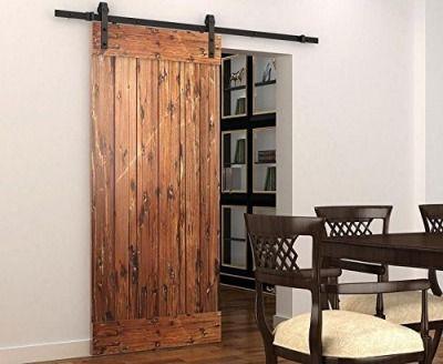 diyhd 5 5ft rustikalen holz schiebet ren beschl ge antike schiebet r alten beschlag nur. Black Bedroom Furniture Sets. Home Design Ideas