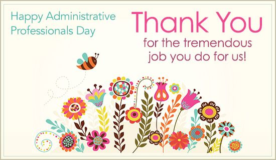 Free Thank You eCard - eMail Free Personalized Administrative