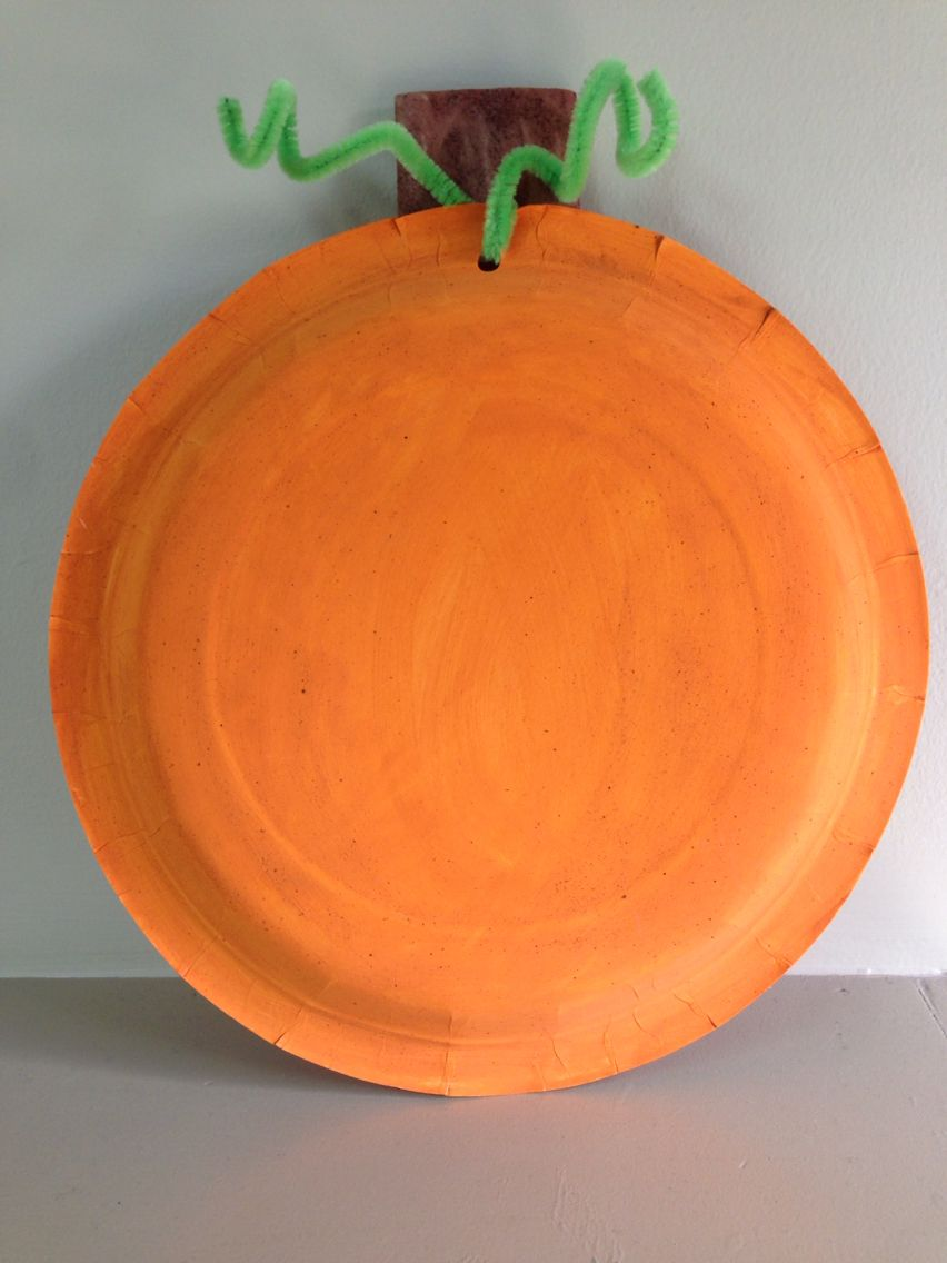 Pumpkin craft- add pumpkin pie spice to the paint