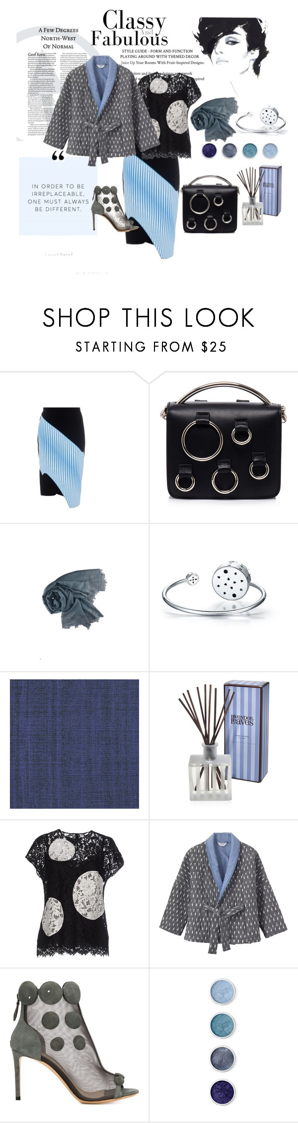 """""""Quilted Kimono Jacket. Always be different"""" by vittorio-1 ❤ liked on Polyvore featuring Dion Lee, MSGM, Élitis, Henri Bendel, Dolce&Gabbana, Toast, Nicholas Kirkwood and Terre Mère"""