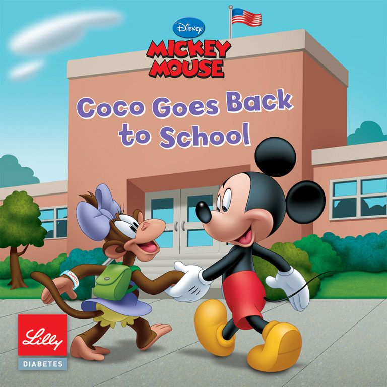 diabetes at school lilly diabetes books online six disney and espn themed books