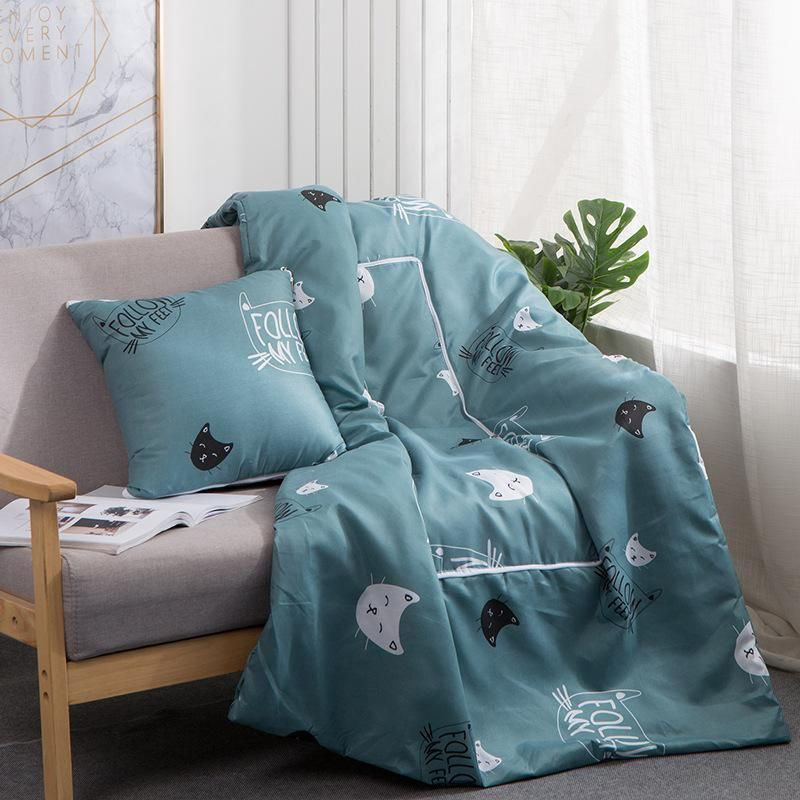 pillow cushion blanket 2 in 1 for beds