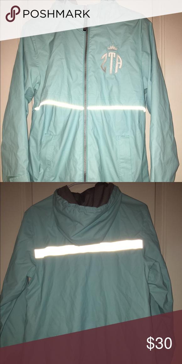 ZTA rain jacket ZTa Charles River rain jacket. Good condition, worn only a couple times Jackets & Coats