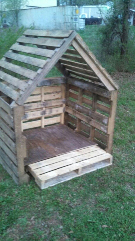 Fabriquer Une Cabane Avec Des Palettes