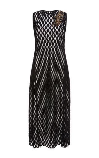 05393cf3460 Embroidered Mesh Midi Dress by SONIA RYKIEL for Preorder on Moda Operandi