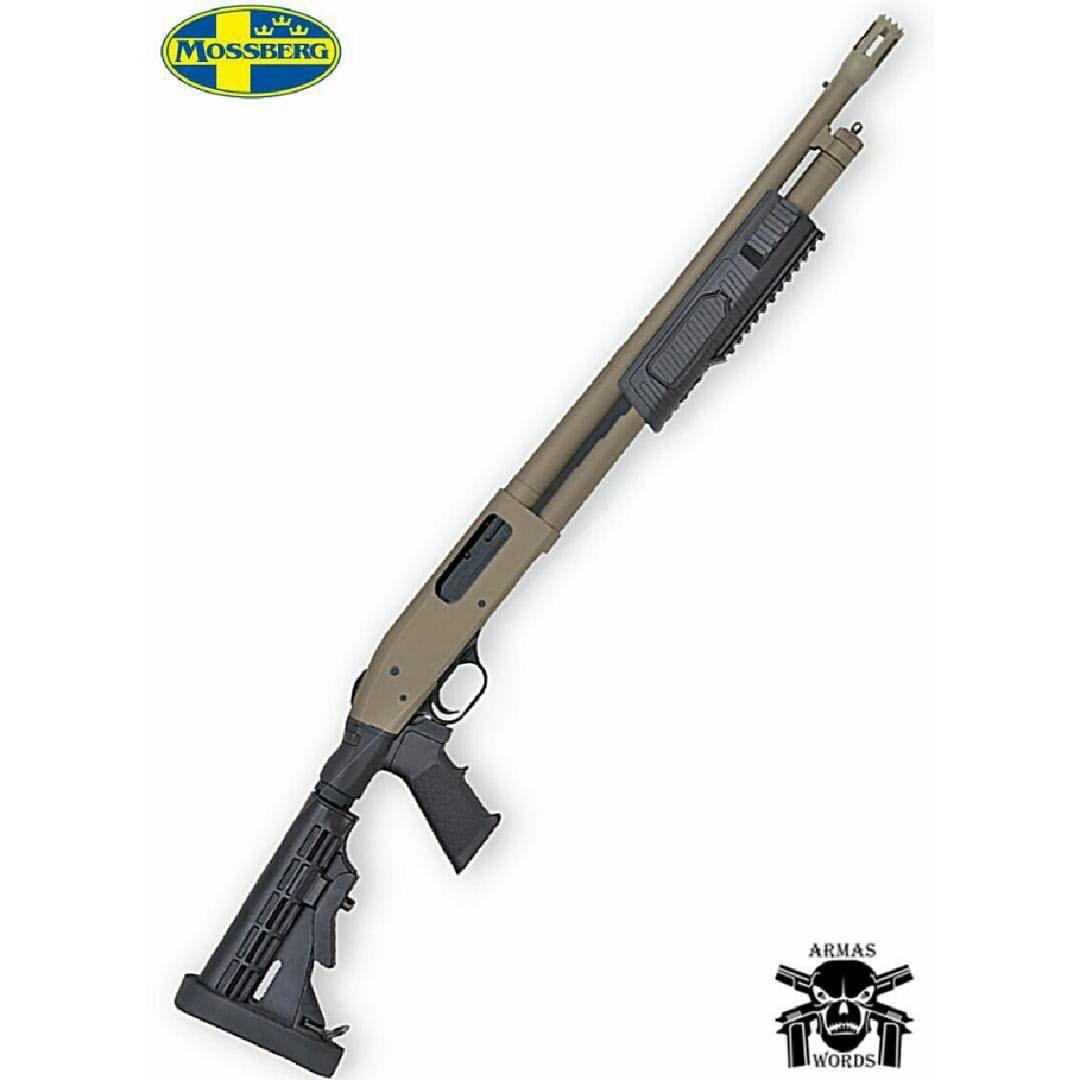 Manufacturer: Mossberg Mod.Flex 500 Tactical Type - Tipo: Shotgun Caliber - Calibre: 12 Gauge Capacity - Capacidade: 8 Barrel length - Comp.Cano: 20 Weight - Peso: 5.75 @mossbergcorp #guns #military...