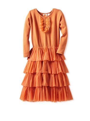 66% OFF Masala Baby Girl\'s Mambo Tutu Dress (Orange)