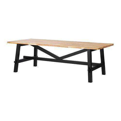 SKOGSTA Dining table Acacia 235x100 cm | Mesas de comedor ikea, Mesa ...