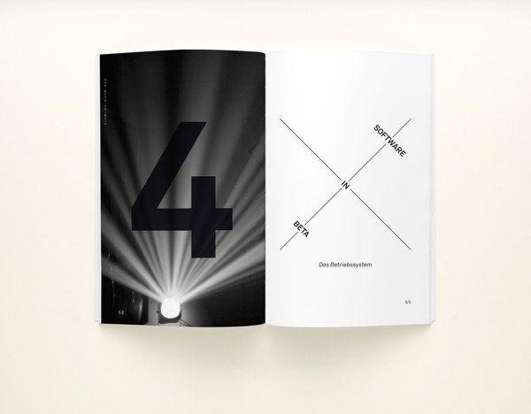 Betaprinzip Book by Thomas Weyres, via Behance