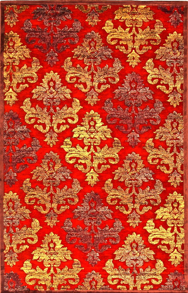 Red And Gold Rug Bohemian Boho Jaipur Rugs Colorful