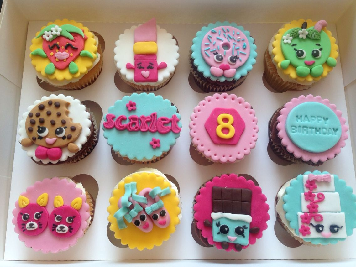 Shopkins Cupcakes Shopkins Cupcakes Shopkins Cake Shopkins Party