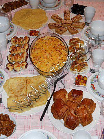 اقتراح 1 لمائدة فطور رمضان شهيوات ناني Food Breakfast Waffles