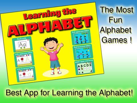 Learning the Alphabet (ipad)