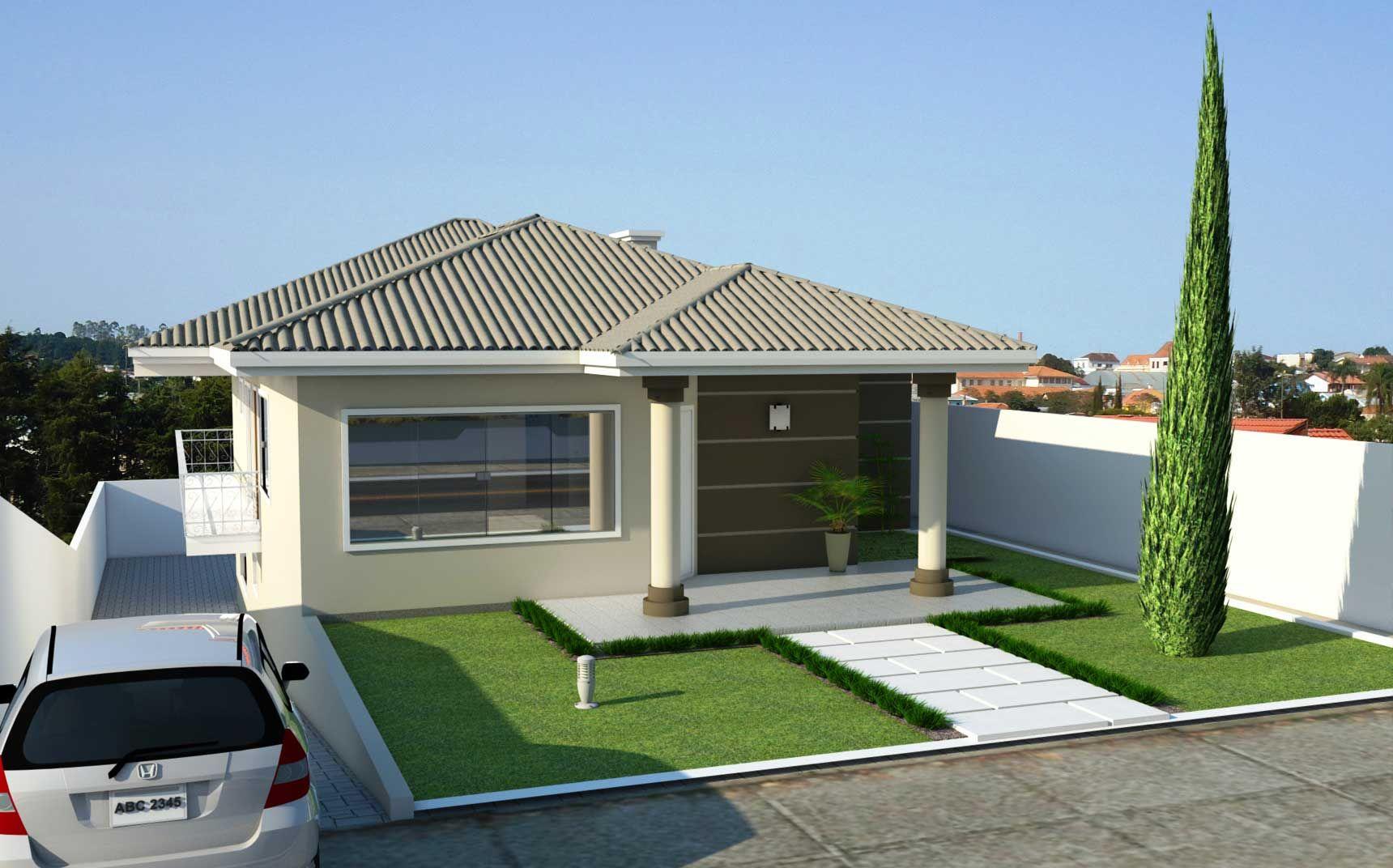 Pin de ala se lima em projetos constru o de casas casas for Fachadas de casas modernas en lima