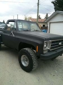 Classic 79 Chevy Step Side Shortbox 4x4 Classic Cars Calgary