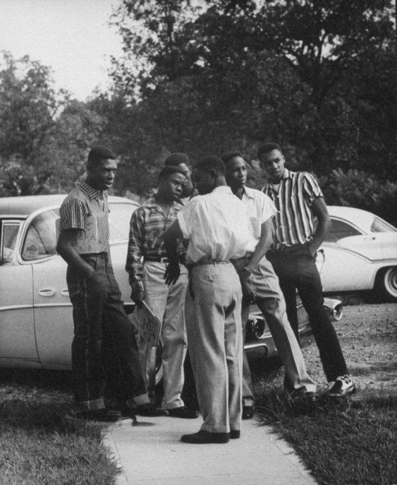 Teenagers 1950s The Way They Were Discovery Of Self African