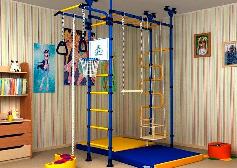 Спортивный уголок для детей в квартиру Дизайн Дети