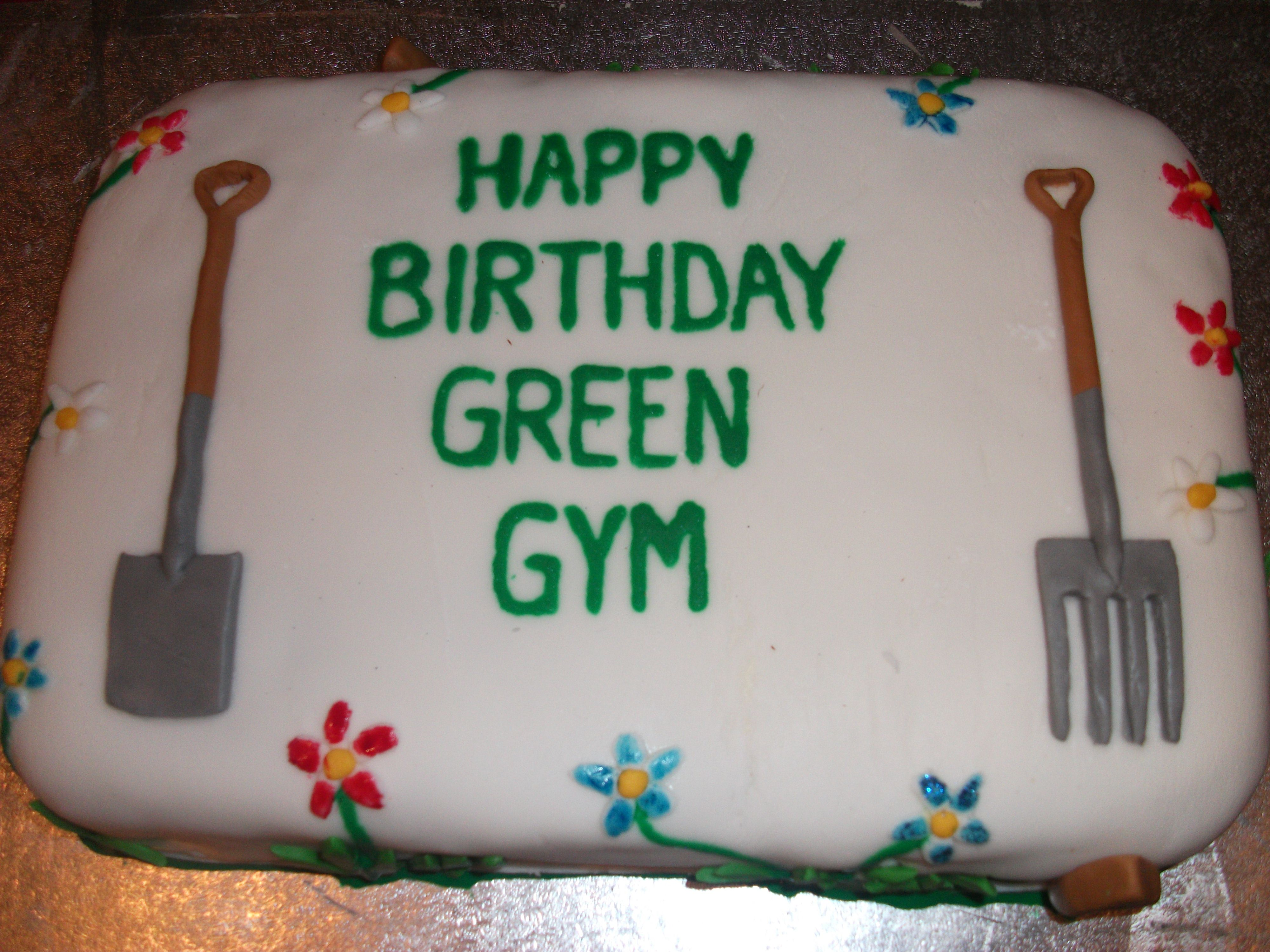 Cake for the Watford Green Gym - 2013