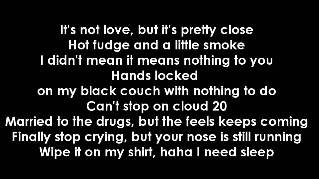 Jhene Aiko Ft Childish Gambino Bed Peace Lyrics Love This