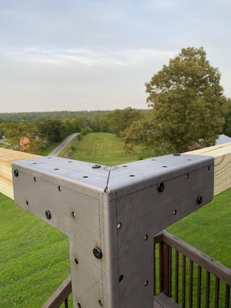 Pergola Corner Bracket Etsy In 2020 Pergola Deck Decorating Ideas On A Budget Deck Railing Diy
