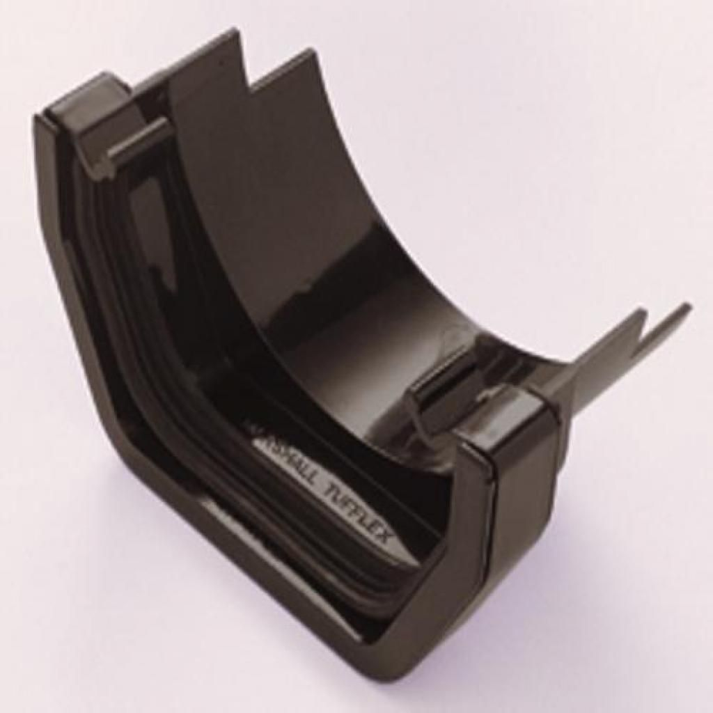 Brown Square To Round Gutter Connector Black Square Pvc Gutters Gutter