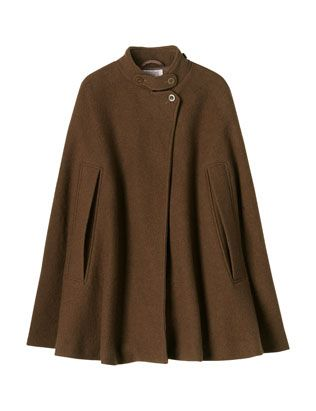 Felted wool cape - adding this to my 'would love to make' list