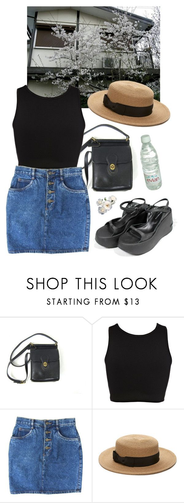 """""""blossom"""" by paper-freckles ❤ liked on Polyvore featuring River Island, Cullen and Forever 21"""