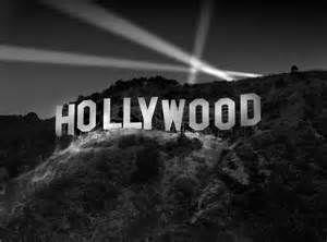 Hollywood Hills Sign At Night Hollywood Celeb Hollywood