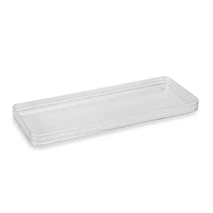 Clear Acrylic Toilet Tank Tray Bed Bath Beyond Clear Acrylic