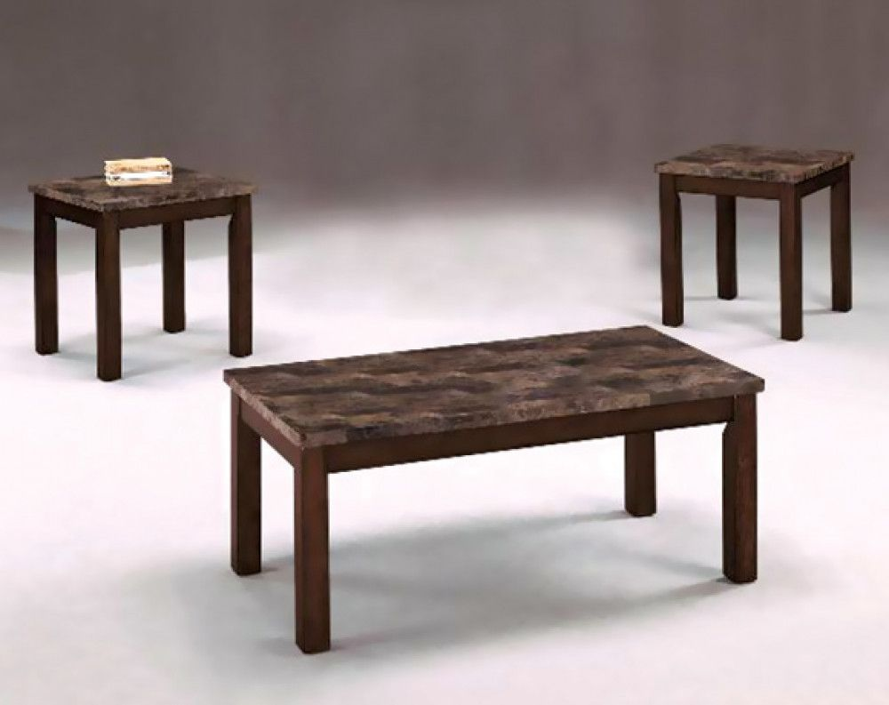 Thurner Occasional Collection American Freight Coffee Table Coffee Table And Side Table Set 3 Piece Coffee Table Set [ 793 x 1000 Pixel ]
