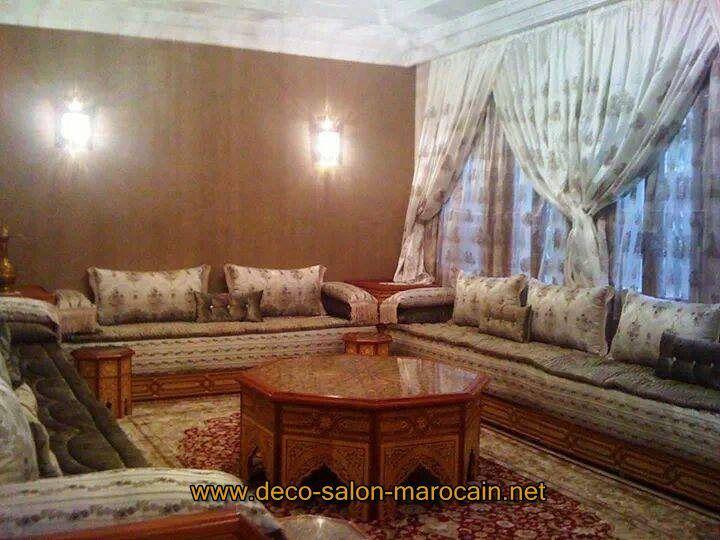Salon-marocain-Bois-style-traditionnel.jpg (720×540) | salon ...