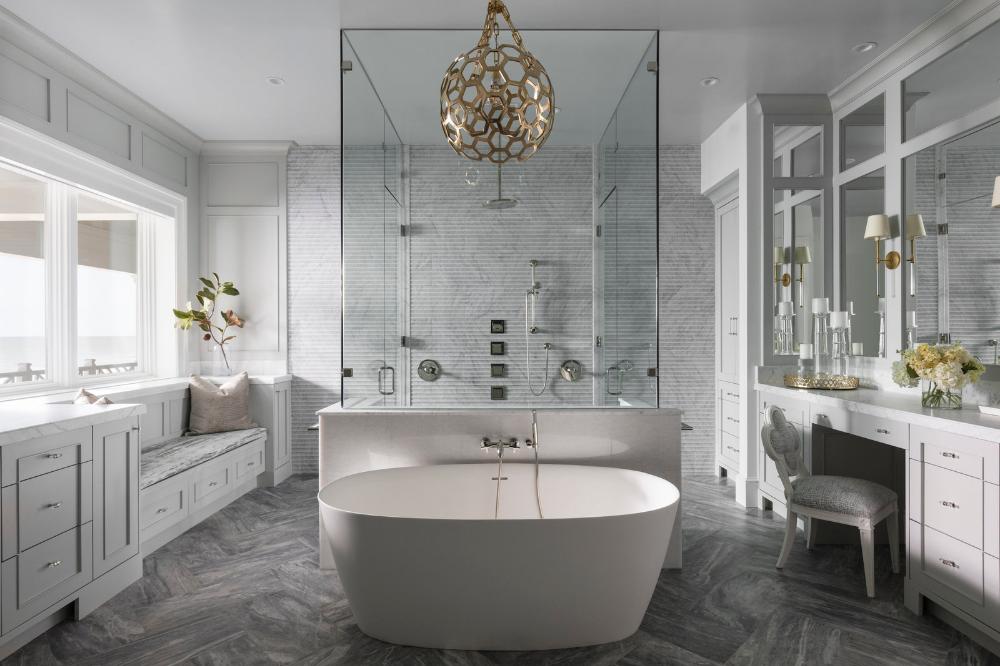 Open Concept Coastal - Schulte Design Associates#interiordesign #interiorinspiration #bathroom