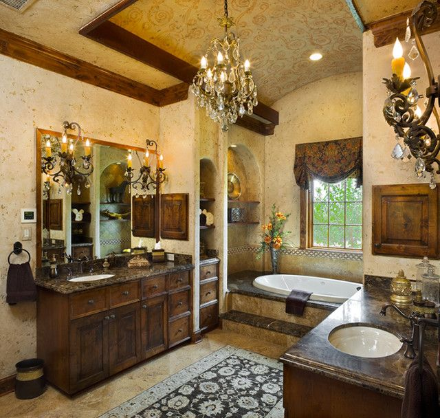 Tuscan Style Bathroom Designs Cool Tuscan Style Bathroom Designs Of Goodly Tuscan Style Master Bath Design Inspiration