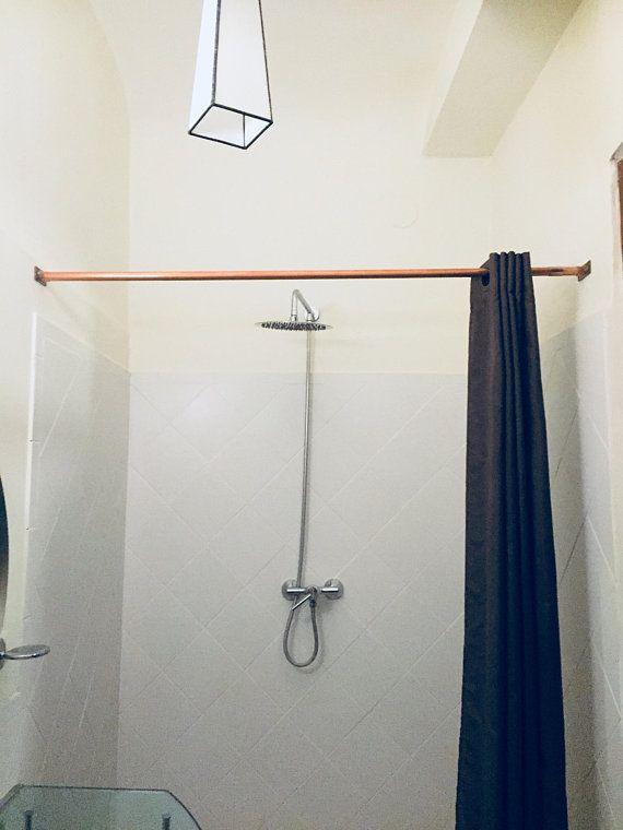 Kupfer Dusche Vorhangstange Decorating Curtain rails