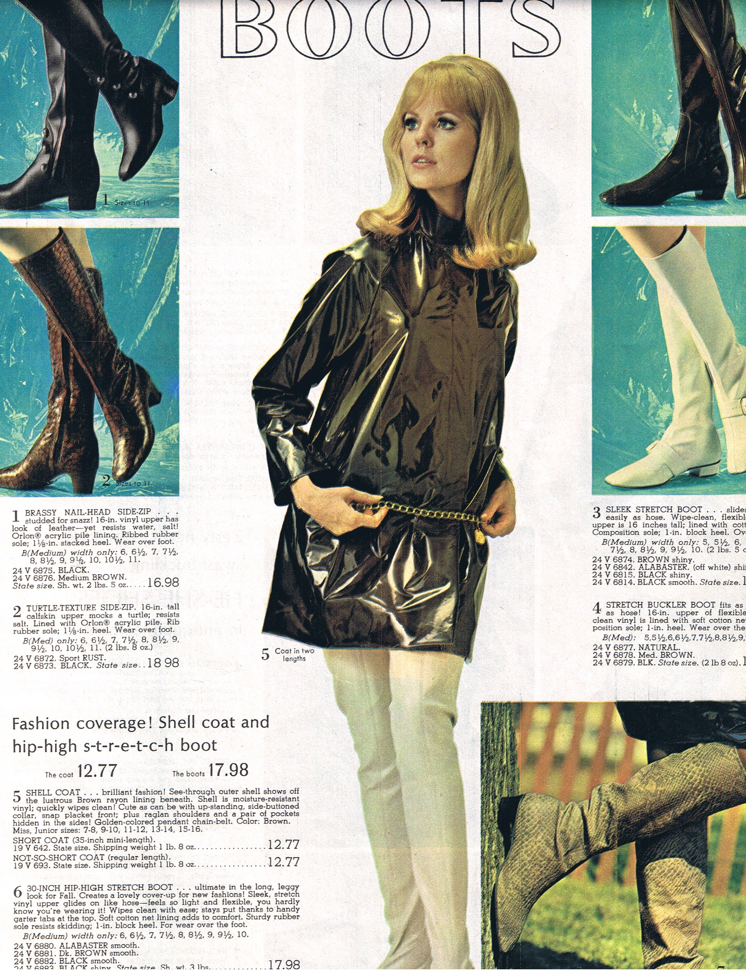 Spiegel 24 Spiegel 60s Gogo Boots Advertisement 1968 60s Advertising Cool