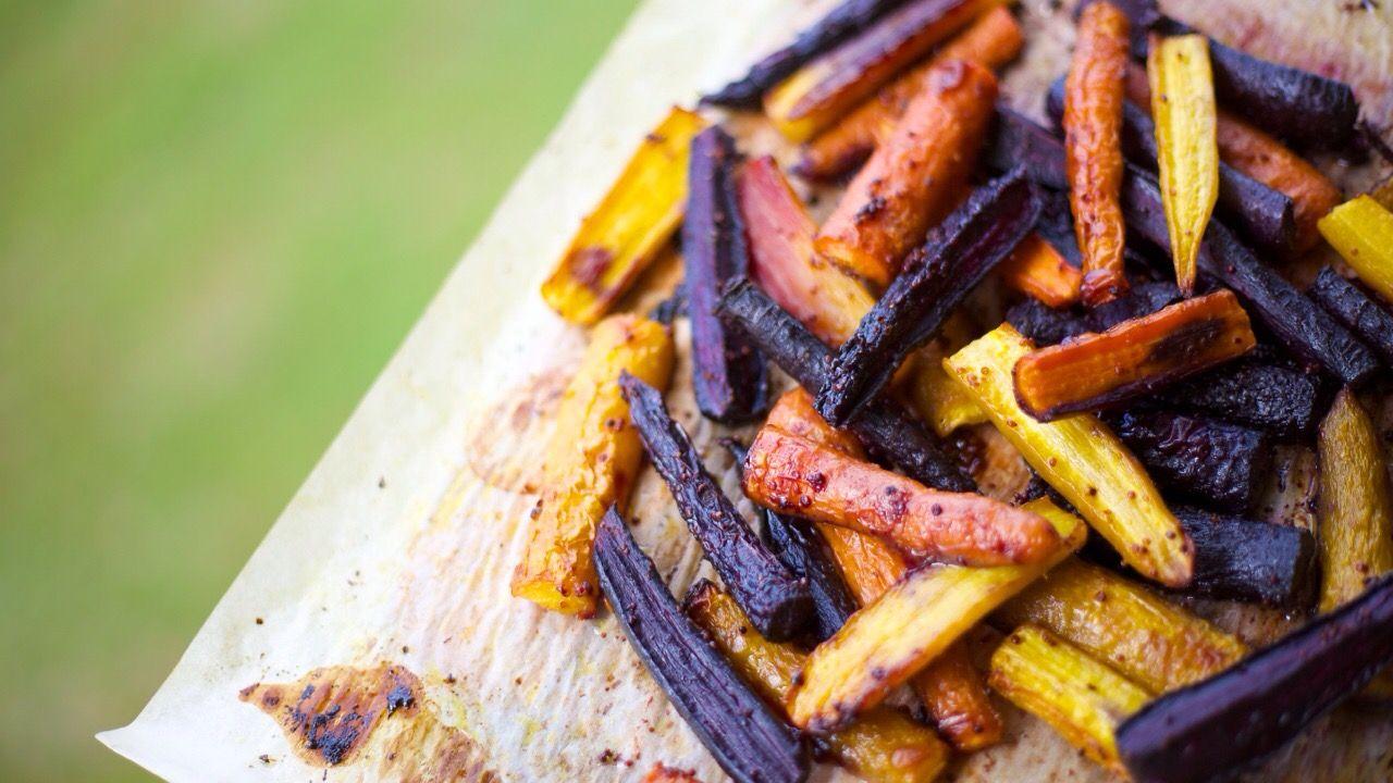 Honey Mustard Carrots- gluten free, dairy free, Paleo, primal, clean eating, vegetarian