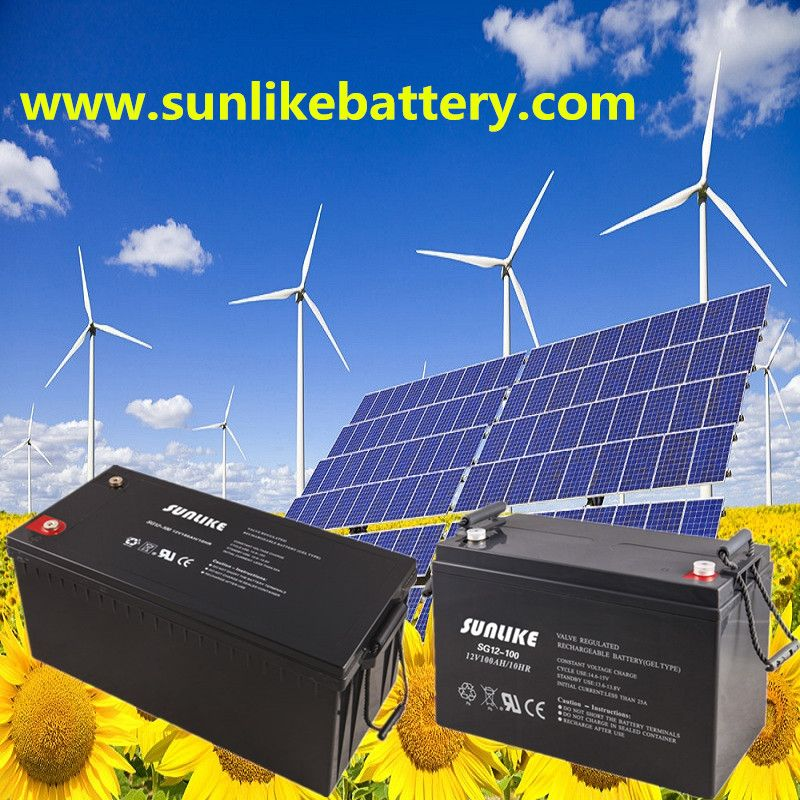 Pin on Long Life Sunlike Solar Gel Battery