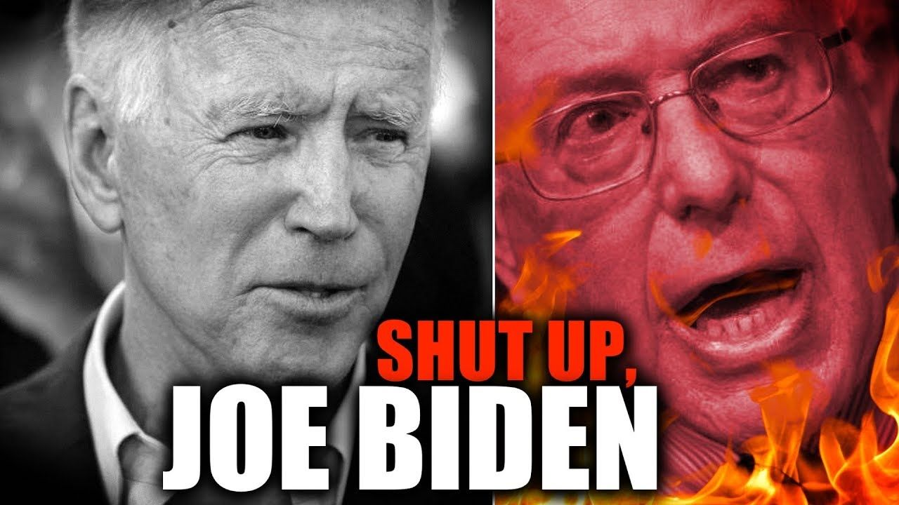 Bernie Sanders Has Had It With Joe Biden S Blatant Corporatism