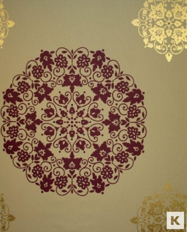 Kandola Silks - Moonstone Wallpaper Crystalised