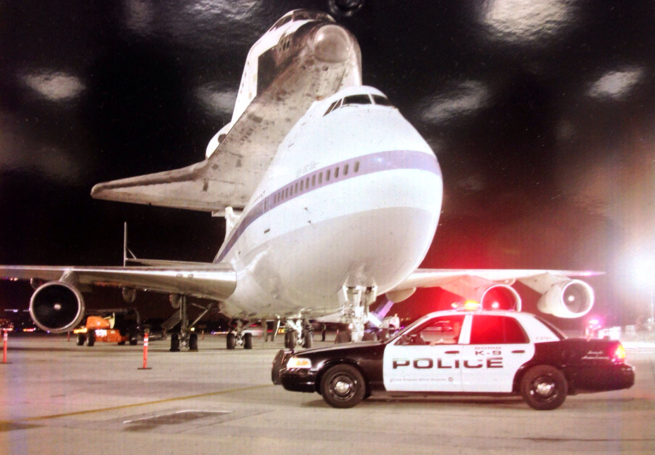 Laxpd The Space Shuttle Los Angeles Airport Peace Officer General Aviation