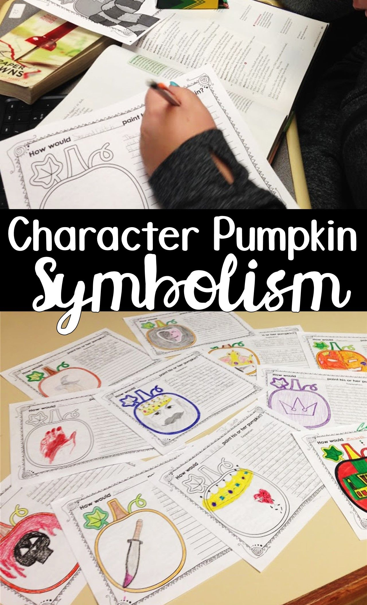 Halloween Writing Pumpkin Characterization And Symbolism