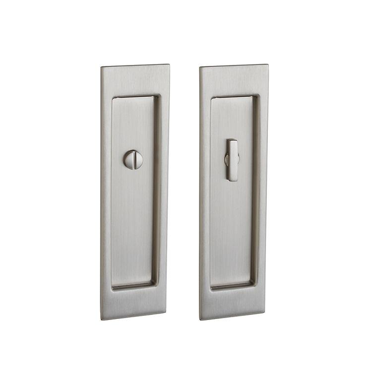 Baldwin Large Santa Monica Style Mortise Pocket Door Lock Pocket Door Hardware Pocket Doors Baldwin Hardware