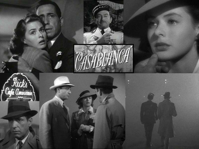 Casablanca play it once sam for old times sake