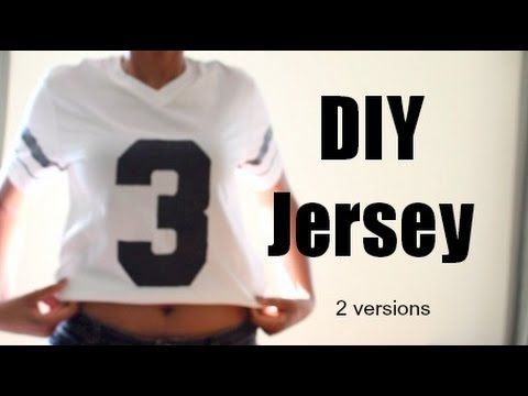 Wanna Have Your Own Jersey Your Way Customize The Lettering Numbers Picture Anything Sports Shirts Ideas Football Diy Quote Shirts Fashion