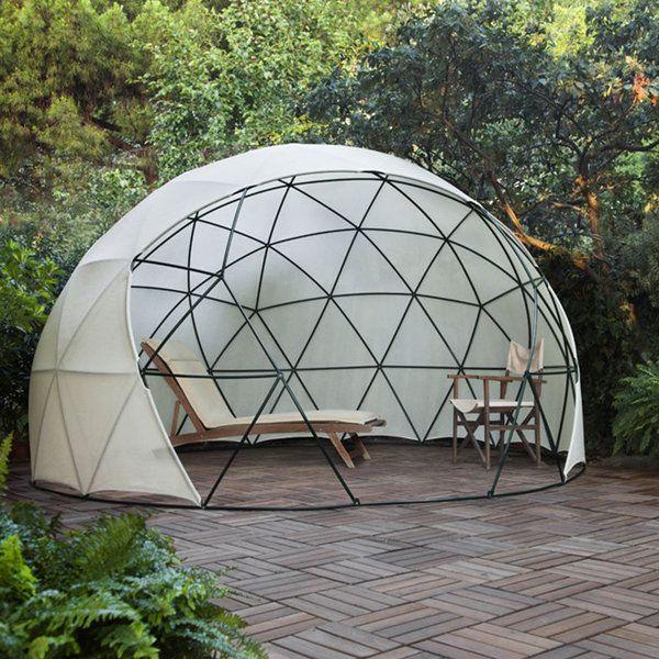 Jardin D Hiver Auvent D Ete Serre Geodesique Garden Igloo Lapadd Objets De Lutte Contre Les Contraintes Du Quotidien Mimari