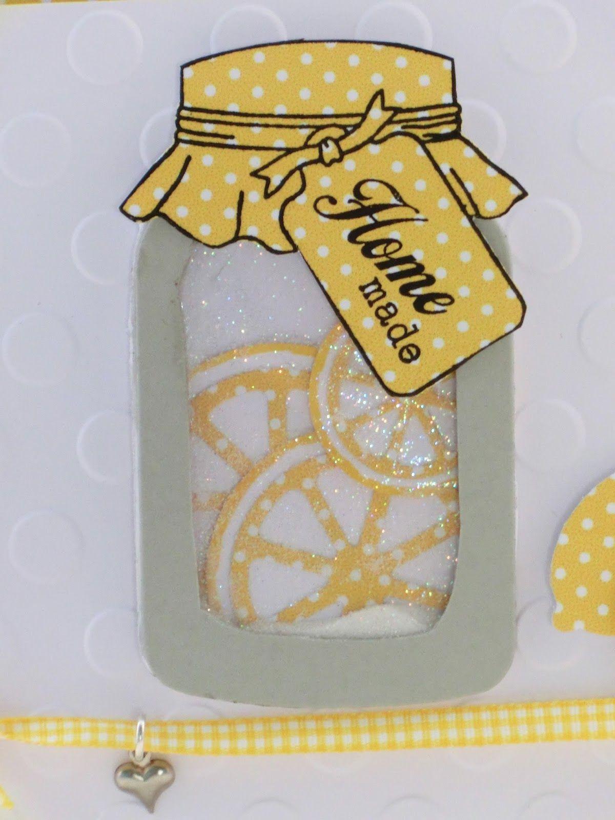 CharlieundPaulchen: Shaker-Card mit Zitronen